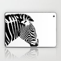 Zebra Portrait Laptop & iPad Skin