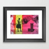 Ma'di Drummer Framed Art Print