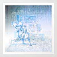Eispaar Art Print