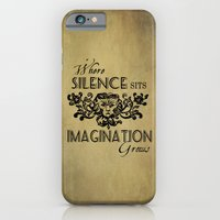 iPhone & iPod Case featuring Where Silence Sits by Charlene McCoy