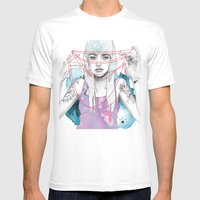 Cat's Cradle Mens Fitted Tee White SMALL