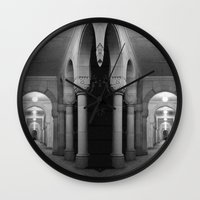 Corridors Of Confusion Wall Clock