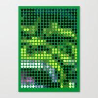 Mr Green 2 Canvas Print