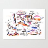 Dog - Canis Canvas Print