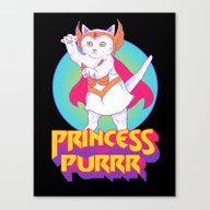 Princess Of Purrr Canvas Print
