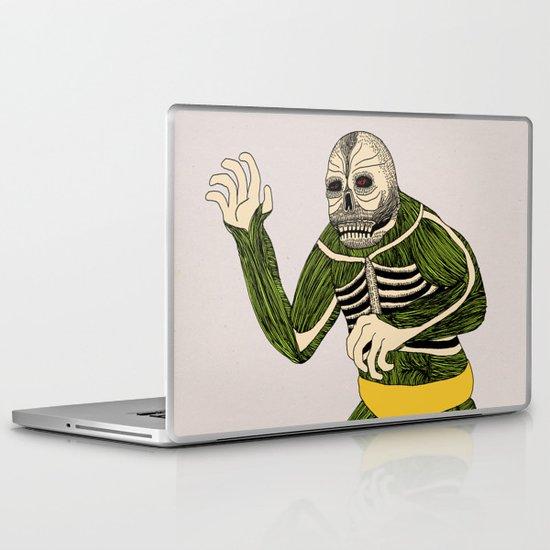 The Original Glowing Skull Laptop & iPad Skin