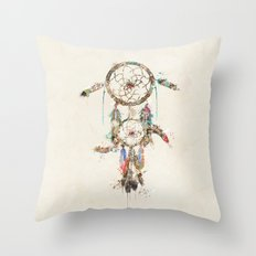 color your dreams Throw Pillow