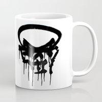 Graffiti Skull Mug
