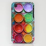 Paint Box iPhone (3g, 3gs) Slim Case
