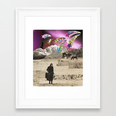 leaving Framed Art Print