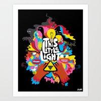 'This Little Light' Gicl… Art Print