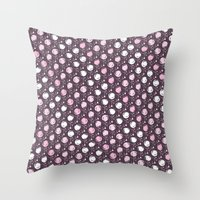 Forest Pattern ~ Cherry … Throw Pillow