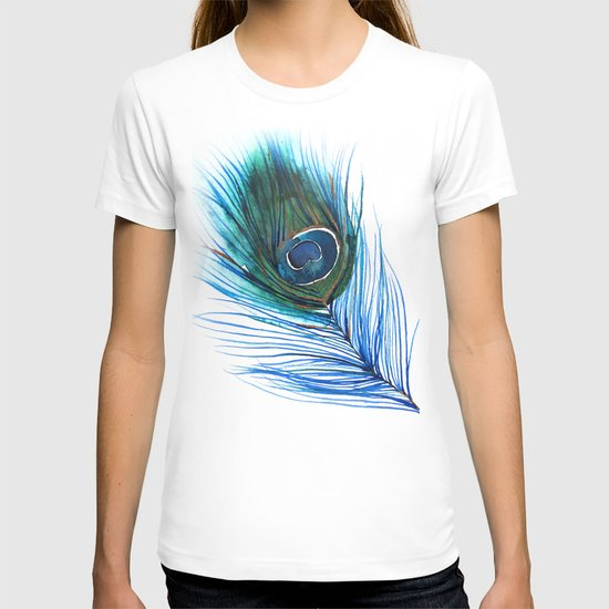 Peacock Feather I T-shirt