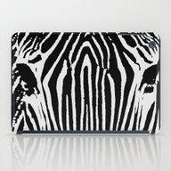 Zebra B&W iPad Case