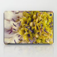 Flower Purple Yellow iPad Case