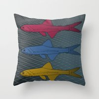 Lampanyctus Australis Throw Pillow