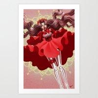 Reckonings of Red Art Print