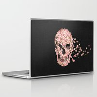 quote Laptop & iPad Skins featuring A Beautiful Death  by Terry Fan
