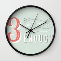 3 Hours of Sleep is Enough Wall Clock