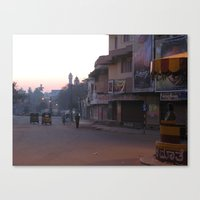An Indian Morning in Mysore (India & Travel) Canvas Print