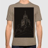 Big Ben And Boudica Mens Fitted Tee Tri-Coffee SMALL