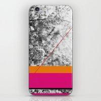 pink and orange iPhone & iPod Skin
