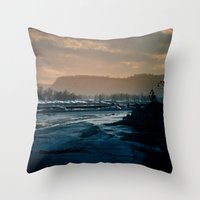 winterscape Throw Pillow
