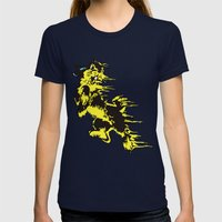 Rabbit Womens Fitted Tee Navy SMALL