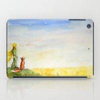 Little Prince, Fox and Wheat Fields iPad Case