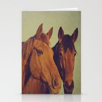 Here We Go Two By Two Stationery Cards