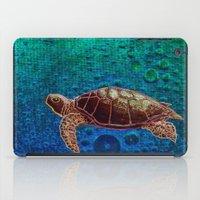 Turtle Patience iPad Case