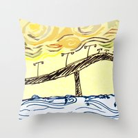 S.P.I Throw Pillow