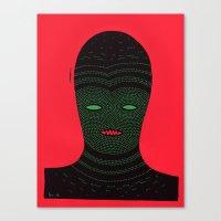 lino man Canvas Print