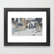 Landscape (Scale Study) Framed Art Print