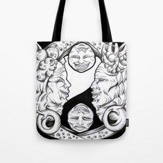 Misunderstandings between men and women Tote Bag