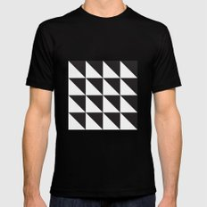 IKEA SILLERUP Rug Pattern Black Mens Fitted Tee SMALL