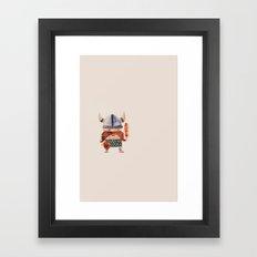 The Viking Diet Framed Art Print