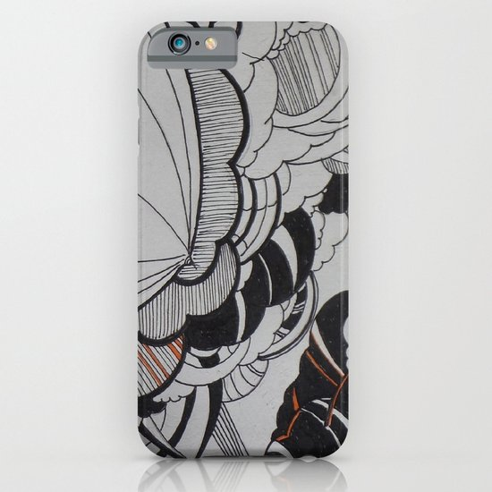 Rain falling iPhone & iPod Case