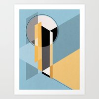 Minimal Afternoon #642 Art Print
