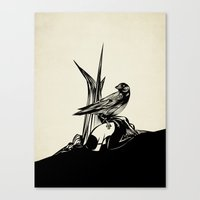 Crows Must Never Win Canvas Print