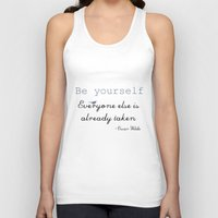 Be Yourself Unisex Tank Top
