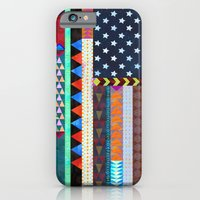 iPhone Cases featuring Boho America by Schatzi Brown