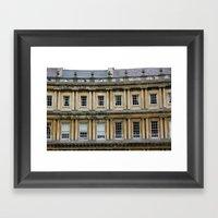 The Crescent, Bath Framed Art Print