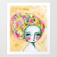 The Muse Of Summer Art Print