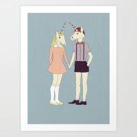 Our Love Is Unique, We A… Art Print