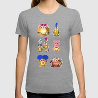 Koopalings! Womens Fitted Tee Tri-Grey SMALL