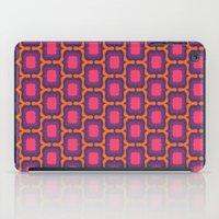 Retro Bloom Purple 4 iPad Case