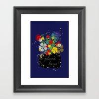 Plant Love! Framed Art Print
