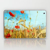 Lying in the cornfield, let your soul Laptop & iPad Skin