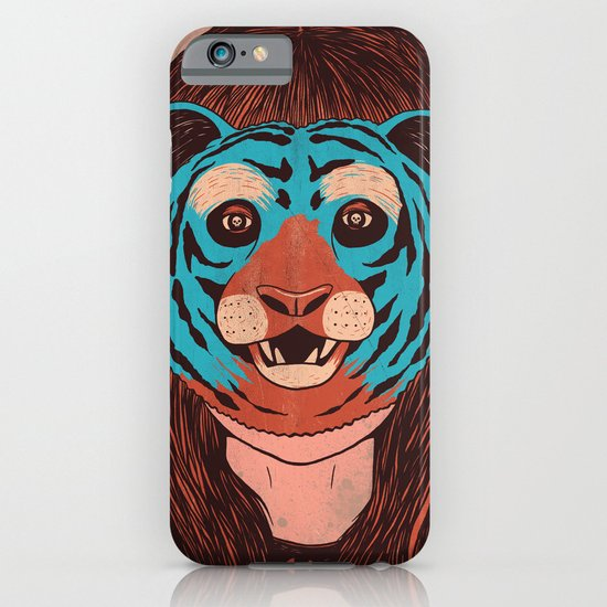 Tiger Face iPhone & iPod Case